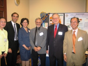 IPAM team with NSF Director Arden Bement, Tony Chan and Deborah Lockhart (NSF MPS Directorate) (2007 CNSF Day) (UCLA)