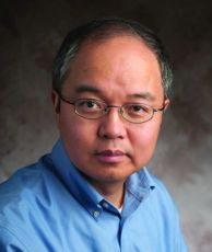 Professor Yang Wang, Chairperson of Mathmatics at MSU.