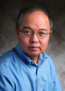 Professor Yang Wang, Chairperson of Mathmatics at MSU.